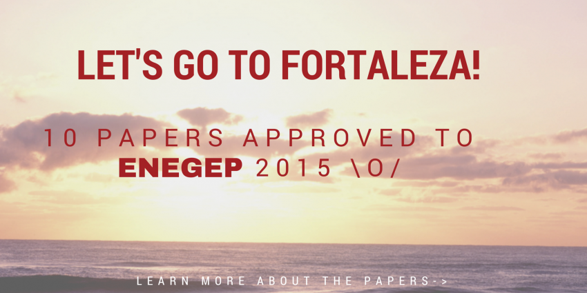 10 Articles Approved in ENEGEP 2015